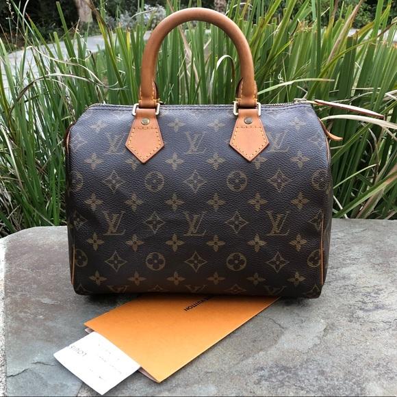 Louis Vuitton Handbags - 💯LV Speedy 25  W NEW ZIPPER TAB   Repair 8cddca63505ed